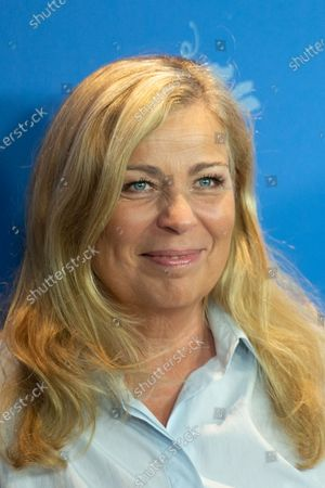 """Lone Scherfig attends the """"The Kindness Of Strangers"""" Photocall at the 69th Berlinale International Film Festival Berlin at Grand Hyatt Hotel on February 7, 2019, in Berlin, Germany. The Berlin film festival will be running from February 7 to 17, 2019. Nearly 400 movies from around the world will be presented, with 17 vying for the prestigious Golden Bear top prize."""