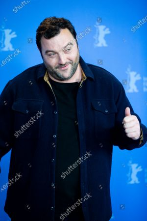 Denis Menochet attends the 'By the Grace of God' (Grace a Dieu) photocall at the 69th Berlinale International Film Festival Berlin on February 8, 2019, in Berlin, Germany. The Berlin film festival will be running from February 7 to 17, 2019. Nearly 400 movies from around the world will be presented, with 17 vying for the prestigious Golden Bear top prize.