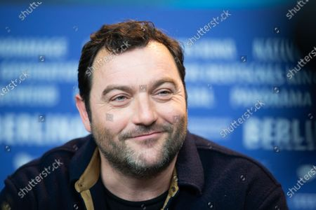 Denis Menochet attends the 'By the Grace of God' (Grace a Dieu) press conference at the 69th Berlinale International Film Festival Berlin on February 8, 2019, in Berlin, Germany. The Berlin film festival will be running from February 7 to 17, 2019. Nearly 400 movies from around the world will be presented, with 17 vying for the prestigious Golden Bear top prize.