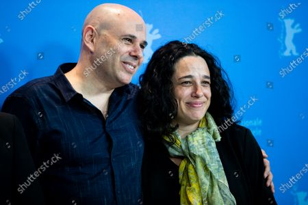 Yaron Shani and Naomi Levari attends the 'Chained' Photocall at the 69th Berlinale International Film Festival Berlin on February 9, 2019, in Berlin, Germany. The Berlin film festival will be running from February 7 to 17, 2019. Nearly 400 movies from around the world will be presented, with 17 vying for the prestigious Golden Bear top prize. (Photo by Manuel Romano/NurPhoto)
