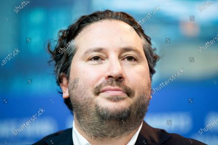 Stock Photo of Teddy Schwarzman attends the 'Light of My Life' press conference at the 69th Berlinale International Film Festival Berlin on February 8, 2019, in Berlin, Germany. The Berlin film festival will be running from February 7 to 17, 2019. Nearly 400 movies from around the world will be presented, with 17 vying for the prestigious Golden Bear top prize.