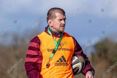 Forwards coach Graham Rowntree