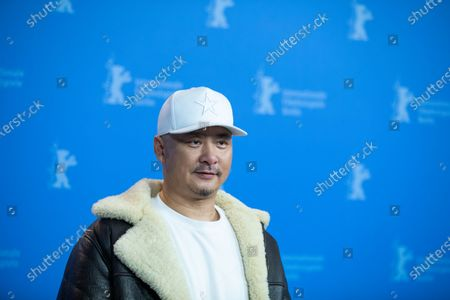 Stock Photo of Wang Quan'an attends the 'Oendoeg' Photocall at the 69th Berlinale International Film Festival Berlin on February 8, 2019, in Berlin, Germany. The Berlin film festival will be running from February 7 to 17, 2019. Nearly 400 movies from around the world will be presented, with 17 vying for the prestigious Golden Bear top prize.