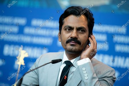 Nawazuddin Siddiqui attends the 'Photograph' press conference during the 69th Berlinale International Film Festival Berlin at Grand Hyatt Hotel on February 13, 2019 in Berlin, Germany.