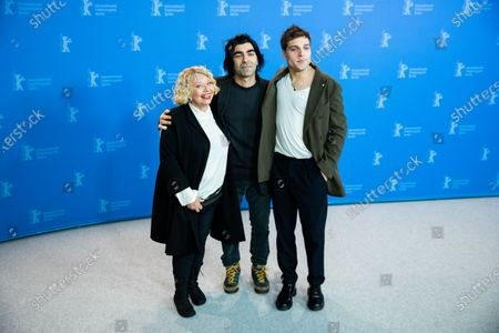 Margarethe Tiesel, Fatih Akin and Jonas Dassler attends the 'The Golden Glove' Photocall at the 69th Berlinale International Film Festival Berlin on February 9, 2019, in Berlin, Germany. The Berlin film festival will be running from February 7 to 17, 2019. Nearly 400 movies from around the world will be presented, with 17 vying for the prestigious Golden Bear top prize.