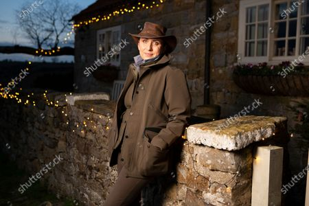 Emma McDonald, the owner of Chequers Holiday Cottage near Osmotherley in North Yorkshire which featured in the BBC TV Christmas Special starring Bob Mortimer and Paul Whitehouse.