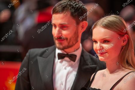 Clemens Schick and Maria Dragus attends the 'The Kindness Of Strangers' Red Carpet at the 69th Berlinale International Film Festival Berlin on February 7, 2019, in Berlin, Germany. The Berlin film festival will be running from February 7 to 17, 2019. Nearly 400 movies from around the world will be presented, with 17 vying for the prestigious Golden Bear top prize.