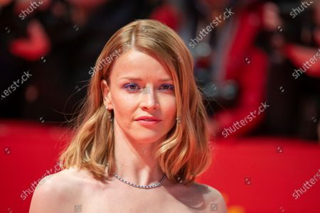 Karoline Schuch attends the 'The Kindness Of Strangers' Red Carpet at the 69th Berlinale International Film Festival Berlin on February 7, 2019, in Berlin, Germany. The Berlin film festival will be running from February 7 to 17, 2019. Nearly 400 movies from around the world will be presented, with 17 vying for the prestigious Golden Bear top prize.