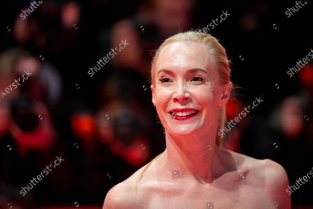 Stock Image of Feo Aladag attends the 'The Kindness Of Strangers' Red Carpet at the 69th Berlinale International Film Festival Berlin on February 7, 2019, in Berlin, Germany. The Berlin film festival will be running from February 7 to 17, 2019. Nearly 400 movies from around the world will be presented, with 17 vying for the prestigious Golden Bear top prize.