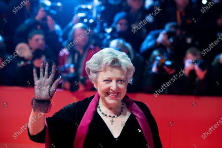 Marie-Luise Marjan attends the 'The Kindness Of Strangers' Red Carpet at the 69th Berlinale International Film Festival Berlin on February 7, 2019, in Berlin, Germany. The Berlin film festival will be running from February 7 to 17, 2019. Nearly 400 movies from around the world will be presented, with 17 vying for the prestigious Golden Bear top prize.