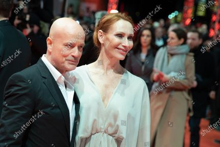 Christian Berkel and Andrea Sawatzki attend the 'The Kindness Of Strangers' Red Carpet at the 69th Berlinale International Film Festival Berlin on February 7, 2019, in Berlin, Germany. The Berlin film festival will be running from February 7 to 17, 2019. Nearly 400 movies from around the world will be presented, with 17 vying for the prestigious Golden Bear top prize.
