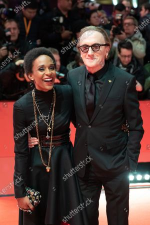 Lindiwe Suttle (L) and Marius Mueller-Westernhagen attends the 'The Kindness Of Strangers' Red Carpet at the 69th Berlinale International Film Festival Berlin on February 7, 2019, in Berlin, Germany. The Berlin film festival will be running from February 7 to 17, 2019. Nearly 400 movies from around the world will be presented, with 17 vying for the prestigious Golden Bear top prize.