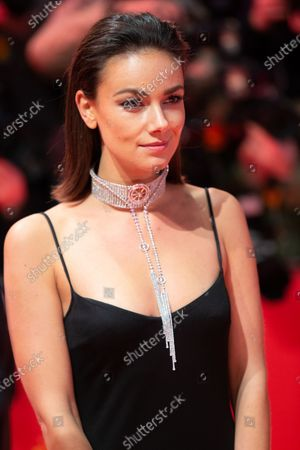 Janina Uhse attends the 'The Kindness Of Strangers' Red Carpet at the 69th Berlinale International Film Festival Berlin on February 7, 2019, in Berlin, Germany. The Berlin film festival will be running from February 7 to 17, 2019. Nearly 400 movies from around the world will be presented, with 17 vying for the prestigious Golden Bear top prize.