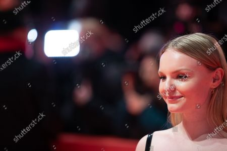 Maria Dragus attends the 'The Kindness Of Strangers' Red Carpet at the 69th Berlinale International Film Festival Berlin on February 7, 2019, in Berlin, Germany. The Berlin film festival will be running from February 7 to 17, 2019. Nearly 400 movies from around the world will be presented, with 17 vying for the prestigious Golden Bear top prize.
