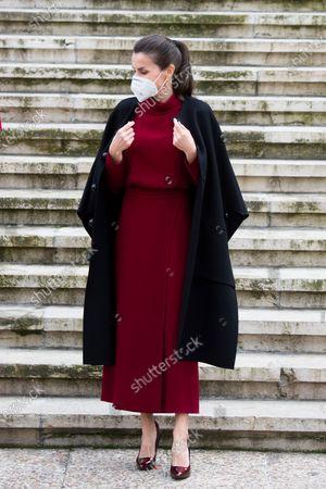 Stock Picture of Queen Letizia