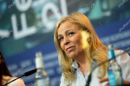 """Lone Scherfig attends the """"The Kindness Of Strangers"""" Press Conference at the 69th Berlinale International Film Festival Berlin at Grand Hyatt Hotel on February 7, 2019, in Berlin, Germany. The Berlin film festival will be running from February 7 to 17, 2019. Nearly 400 movies from around the world will be presented, with 17 vying for the prestigious Golden Bear top prize."""