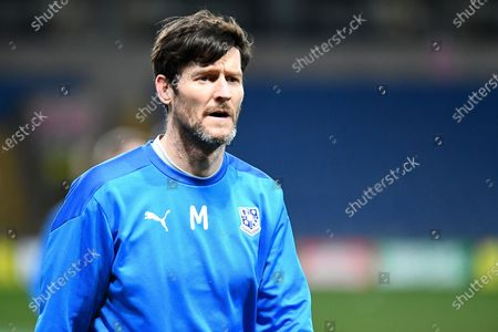 Portrait of Tranmere Rovers forward (on loan from Preston North End) David Nugent (28) during the EFL Trophy match between Oxford United and Tranmere Rovers at the Kassam Stadium, Oxford