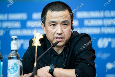 Lou Ye attends the 'The Shadow Play' Press Conference during the 69th Berlinale International Film Festival Berlin at Grand Hyatt Hotel on February 11, 2019 in Berlin, Germany.