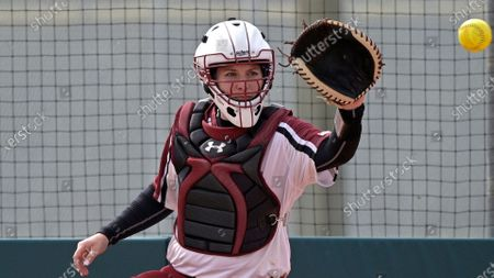 Editorial picture of New Mexico St Softball, Leesburg, United States - 15 Feb 2021