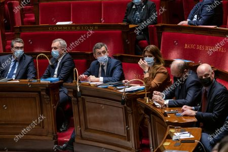 Editorial photo of Weekly session of questions to the government, Paris, France - 16 Feb 2021