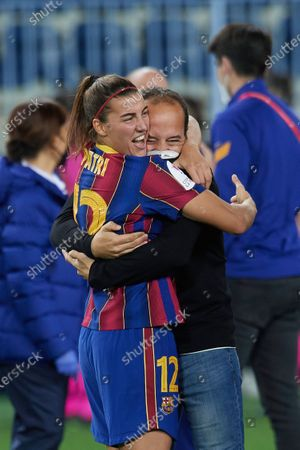 Editorial photo of FC Barcelona v Logrono - Copa de la Reina Final, Football, Estadio La Rosaleda, Malaga, Spain - 13 Feb 2021