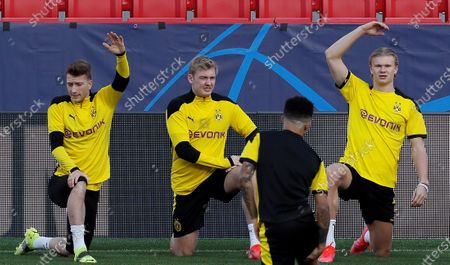 Editorial picture of Borussia Dortmund training session, Seville, Spain - 16 Feb 2021