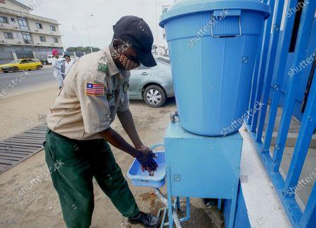 Editorial picture of Ebola awareness and prevention campaign, Monrovia, Liberia - 16 Feb 2021