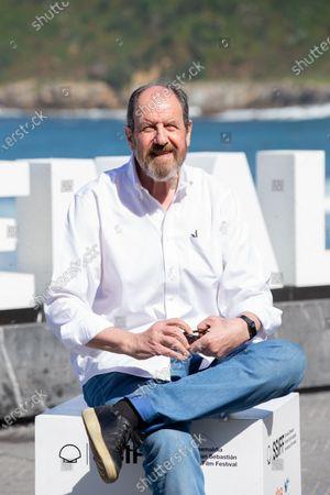 Josep Maria Pou attends the 'El Reino' Photocall during the 66th San Sebastian Film Festival in San Sebastian on September 22, 2018 in San Sebastian, Spain.