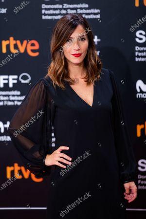 Barbara Goenaga attends the 'High Life' premiere during the 66th San Sebastian International Film Festival on September 27, 2018 in San Sebastian, Spain.