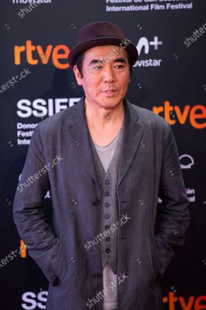 Stock Photo of Director Jee-woon Kim attends the 'Illang: The Wolf Brigade' Premiere during the 66th San Sebastian International Film Festival on September 26, 2018 in San Sebastian, Spain.