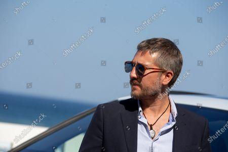 Alberto Ammann attend 'La Octava Dimension' photocall during the 66th San Sebastian International Film Festival on September 27, 2018 in San Sebastian, Spain
