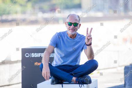 Dario Grandinetti attends the 'Rojo' Photocall during the 66th San Sebastian International Film Festival on September 23, 2018 in San Sebastian, Spain.