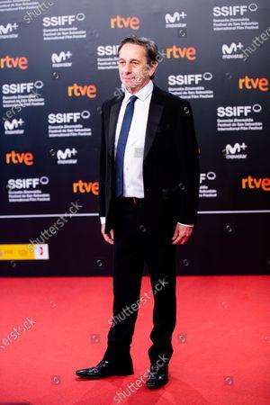 Alfredo Castro during the 'Rojo' Red Carpet at the 66th San Sebastian International Film Festival on September 23, 2018 in San Sebastian, Spain.