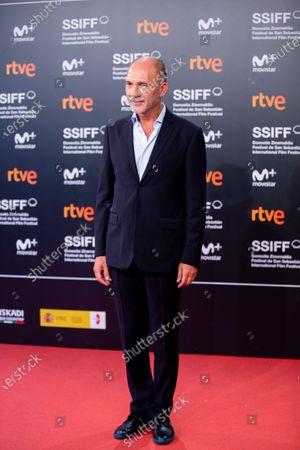 Dario Grandinetti during the 'Rojo' Red Carpet at the 66th San Sebastian International Film Festival on September 23, 2018 in San Sebastian, Spain.