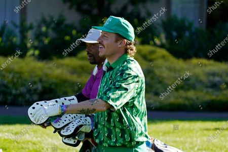 Editorial picture of Golf, Pebble Beach, United States - 10 Feb 2021