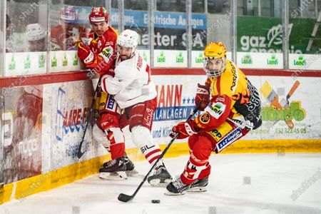 Editorial picture of National League, EHC Biel-Bienne v Lausanne HC, Biel, Switzerland - 16 Feb 2021