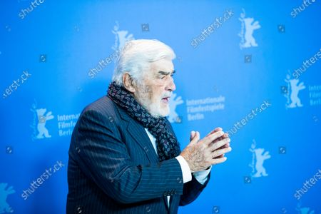 Mario Adorf attends the 'It Could Have Been Worse - Mario Adorf' (Es haette schlimmer kommen koennen - Mario Adorf)  photocall during the 69th Berlinale International Film Festival Berlin at Grand Hyatt Hotel on February 12, 2019 in Berlin, Germany.  (Photo by Manuel Romano/NurPhoto)