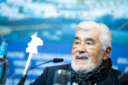 Mario Adorf attends the 'It Could Have Been Worse - Mario Adorf' (Es haette schlimmer kommen koennen - Mario Adorf) Press Conference during the 69th Berlinale International Film Festival Berlin at Grand Hyatt Hotel on February 12, 2019 in Berlin, Germany.  (Photo by Manuel Romano/NurPhoto)