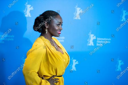 Aissa Maiga attends the photocall for the Netflix film 'The Boy Who Harnessed The Wind' during the 69th Berlinale International Film Festival Berlin at Grand Hyatt Hotel on February 12, 2019 in Berlin, Germany.  (Photo by Manuel Romano/NurPhoto)