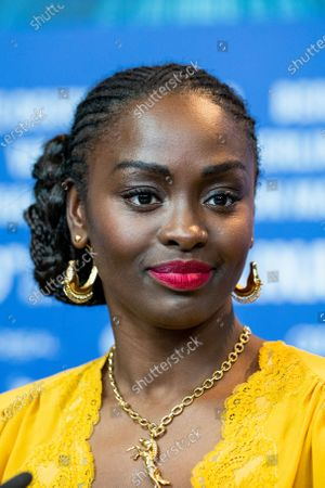Aissa Maiga attends the press conference for the Netflix film 'The Boy Who Harnessed The Wind' during the 69th Berlinale International Film Festival Berlin at Grand Hyatt Hotel on February 12, 2019 in Berlin, Germany.  (Photo by Manuel Romano/NurPhoto)