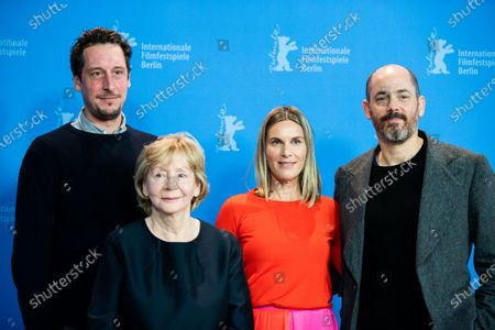 Hans Lw, Christine Schorn, Nele Mueller-Stfen and director Edward Berger attends the 'All My Loving' Photocall at the 69th Berlinale International Film Festival Berlin on February 9, 2019, in Berlin, Germany. The Berlin film festival will be running from February 7 to 17, 2019. Nearly 400 movies from around the world will be presented, with 17 vying for the prestigious Golden Bear top prize. (Photo by Manuel Romano/NurPhoto)