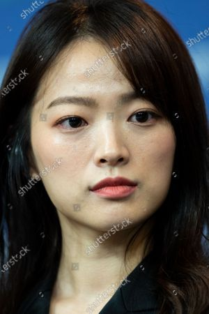 Stock Image of Chun Woo-hee  attends the  'Idol' (Woo Sang) Press Conference during the 69th Berlinale International Film Festival Berlin at Grand Hyatt Hotel on February 14, 2019 in Berlin, Germany. Rampling is this years recipient of the Honorary Golden Bear Award of the Berlinale. (Photo by Manuel Romano/NurPhoto)