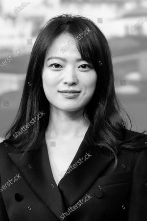 (EDITORS NOTE: Image has been converted to black andwhite.) Chun Woo-hee  attends the  'Idol' (Woo Sang) Press Conference during the 69th Berlinale International Film Festival Berlin at Grand Hyatt Hotel on February 14, 2019 in Berlin, Germany. Rampling is this years recipient of the Honorary Golden Bear Award of the Berlinale. (Photo by Manuel Romano/NurPhoto)