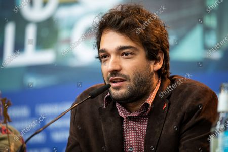 Humberto Carrao attends the 'Marighella' Press Conference during the 69th Berlinale International Film Festival Berlin at Grand Hyatt Hotel on February 15, 2019 in Berlin, Germany.  (Photo by Manuel Romano/NurPhoto)