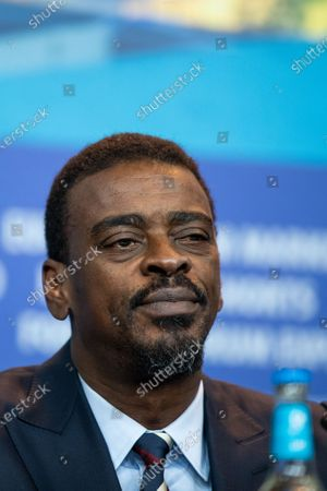 Seu Jorge attends the 'Marighella' Press Conference during the 69th Berlinale International Film Festival Berlin at Grand Hyatt Hotel on February 15, 2019 in Berlin, Germany.  (Photo by Manuel Romano/NurPhoto)