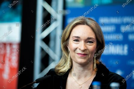 Celine Rattray attends the 'Skin' Press Conference during the 69th Berlinale International Film Festival Berlin at Grand Hyatt Hotel on February 11, 2019 in Berlin, Germany.  (Photo by Manuel Romano/NurPhoto)