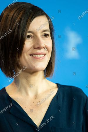 Stock Image of Pia Hierzegger attends the 'The Ground Beneath My Feet' Photocall  at the 69th Berlinale International Film Festival Berlin on February 9, 2019, in Berlin, Germany. The Berlin film festival will be running from February 7 to 17, 2019. Nearly 400 movies from around the world will be presented, with 17 vying for the prestigious Golden Bear top prize. (Photo by Manuel Romano/NurPhoto)