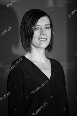 (EDITOR'S NOTE: Image was converted in black and white) Pia Hierzegger attends the 'The Ground Beneath My Feet' Photocall  at the 69th Berlinale International Film Festival Berlin on February 9, 2019, in Berlin, Germany. The Berlin film festival will be running from February 7 to 17, 2019. Nearly 400 movies from around the world will be presented, with 17 vying for the prestigious Golden Bear top prize. (Photo by Manuel Romano/NurPhoto)