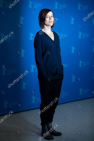 Stock Photo of Pia Hierzegger attends the 'The Ground Beneath My Feet' Photocall  at the 69th Berlinale International Film Festival Berlin on February 9, 2019, in Berlin, Germany. The Berlin film festival will be running from February 7 to 17, 2019. Nearly 400 movies from around the world will be presented, with 17 vying for the prestigious Golden Bear top prize. (Photo by Manuel Romano/NurPhoto)