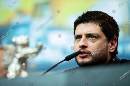 Claudio Giovannesi attends the press conference after the closing ceremony of the 69th Berlinale International Film Festival Berlin at Berlinale Palace on February 16, 2019 in Berlin, Germany. (Photo by Manuel Romano/NurPhoto)